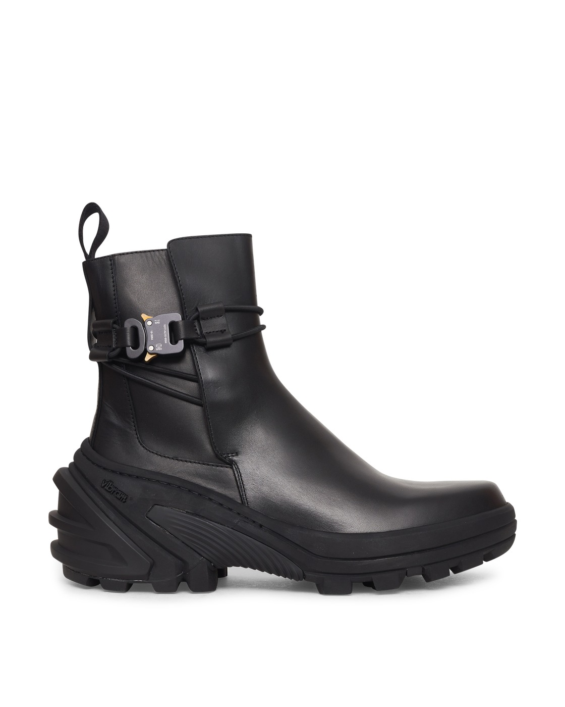 Photo: 1017 Alyx 9sm Buckle Boots With Fixed Sole Black