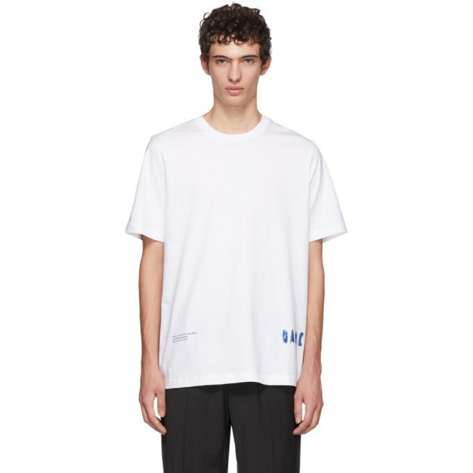 Photo: OAMC White Fabrik T-Shirt