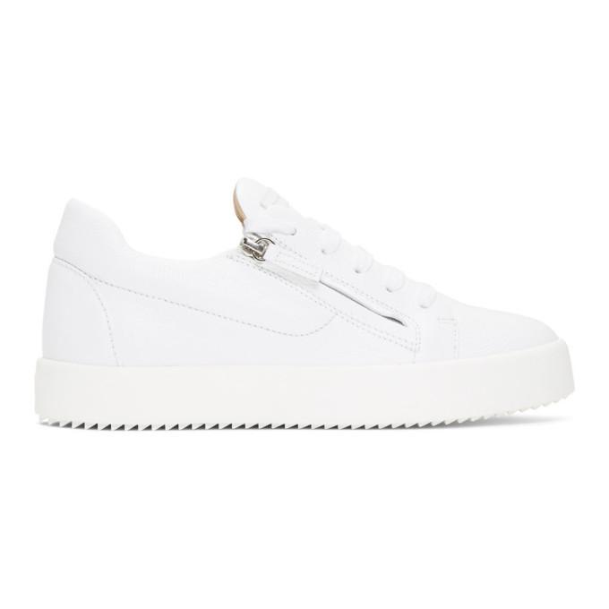 Photo: Giuseppe Zanotti White May London Addy Sneakers