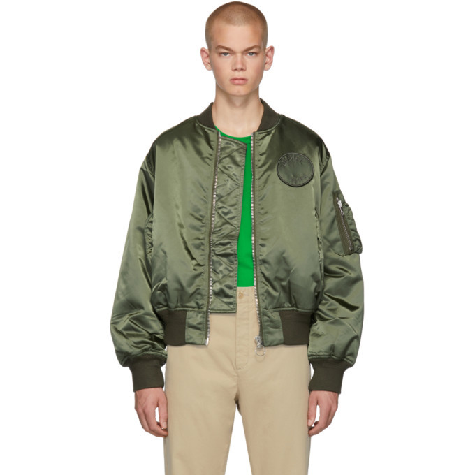 Photo: Etudes Green Horizon Bomber Jacket