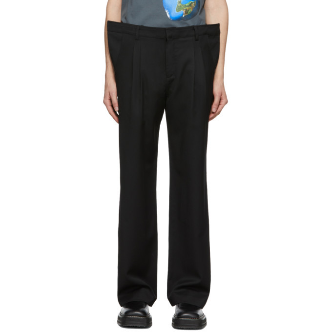 Photo: ADER error Black Oversize Front Wire Trousers