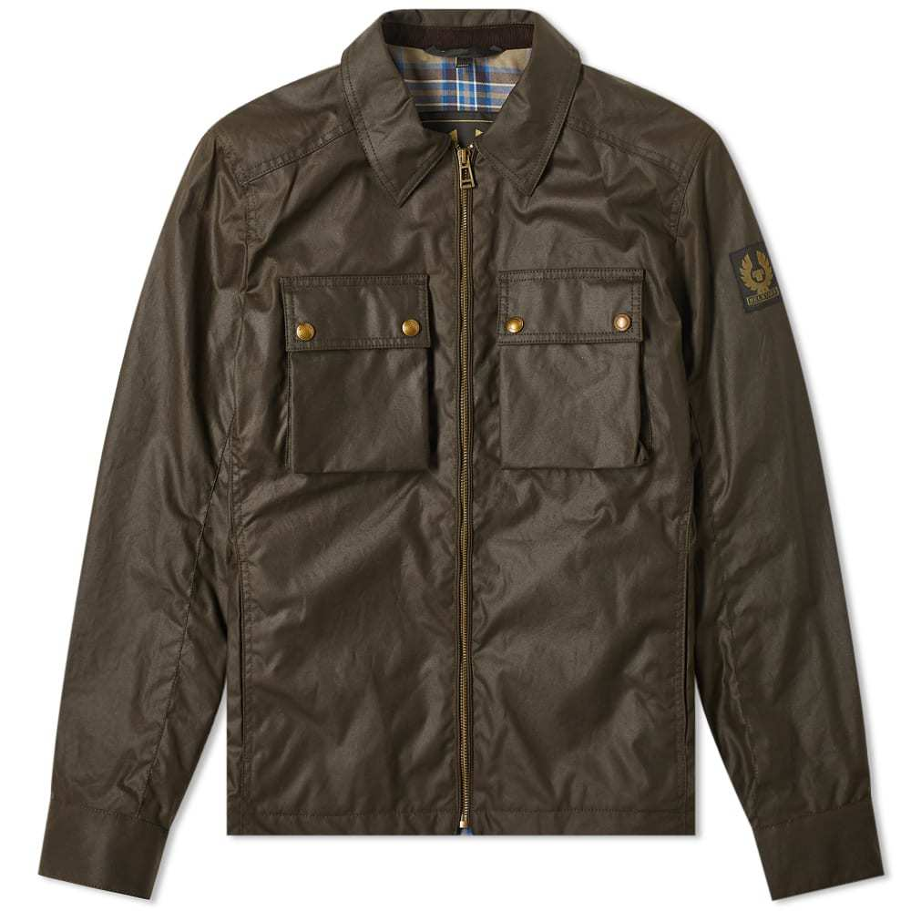 Photo: Belstaff Dunstall Zip Waxed Jacket