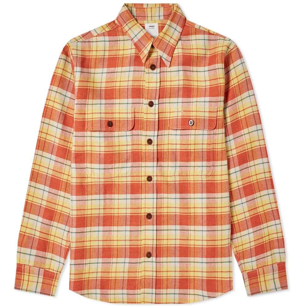 Photo: Visvim Handyman Check Shirt Red