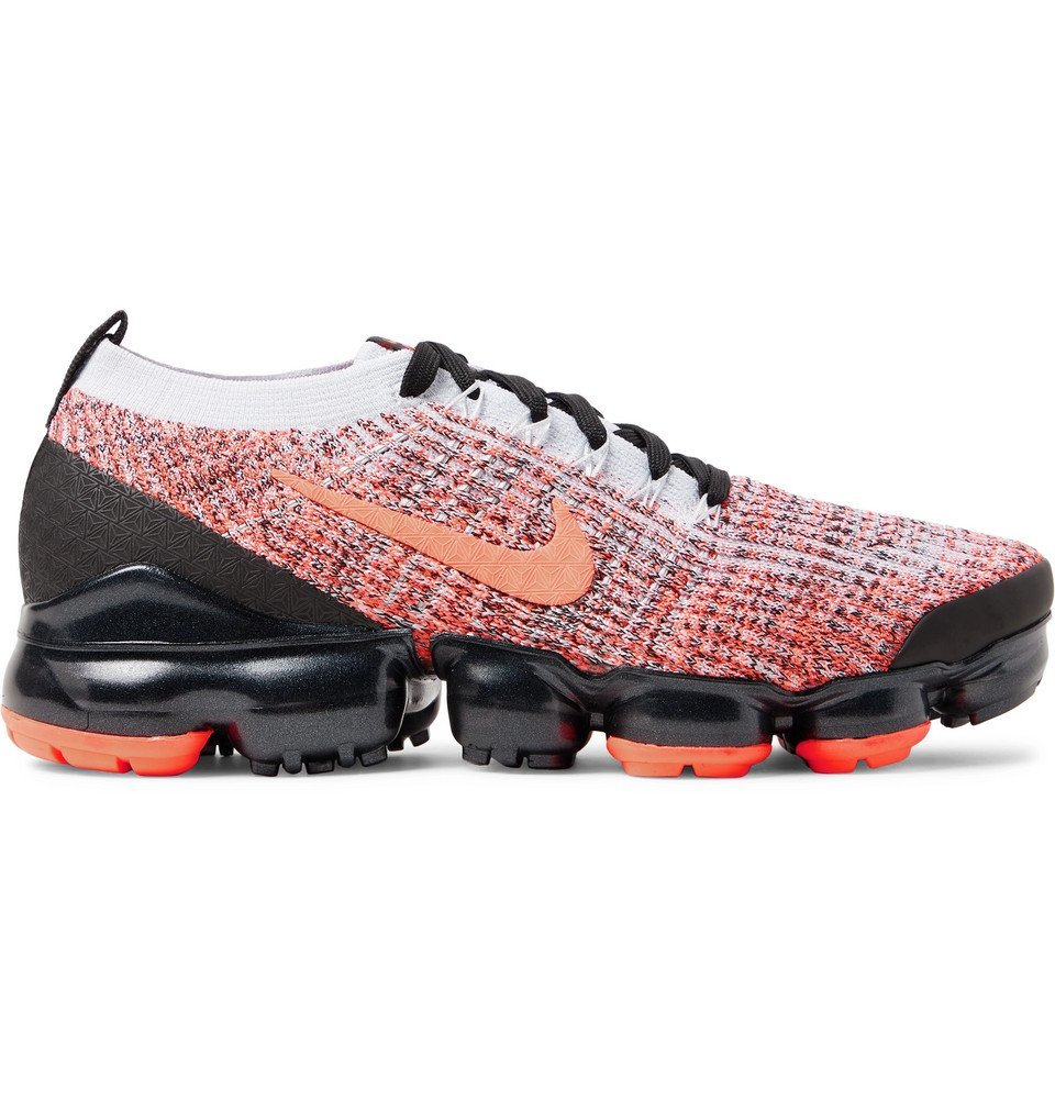 Photo: Nike Running - Air Vapormax Flyknit 3 Sneakers - Orange
