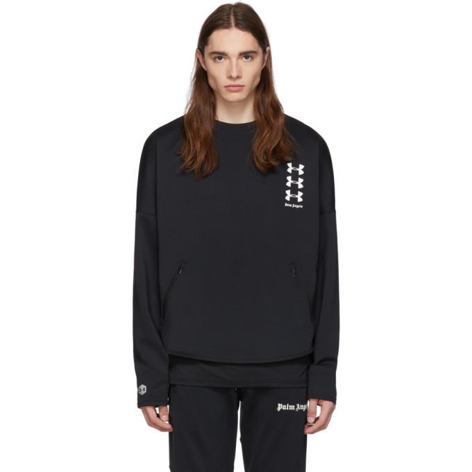 Photo: Palm Angels Black Under Armour Edition Loose Sweatshirt
