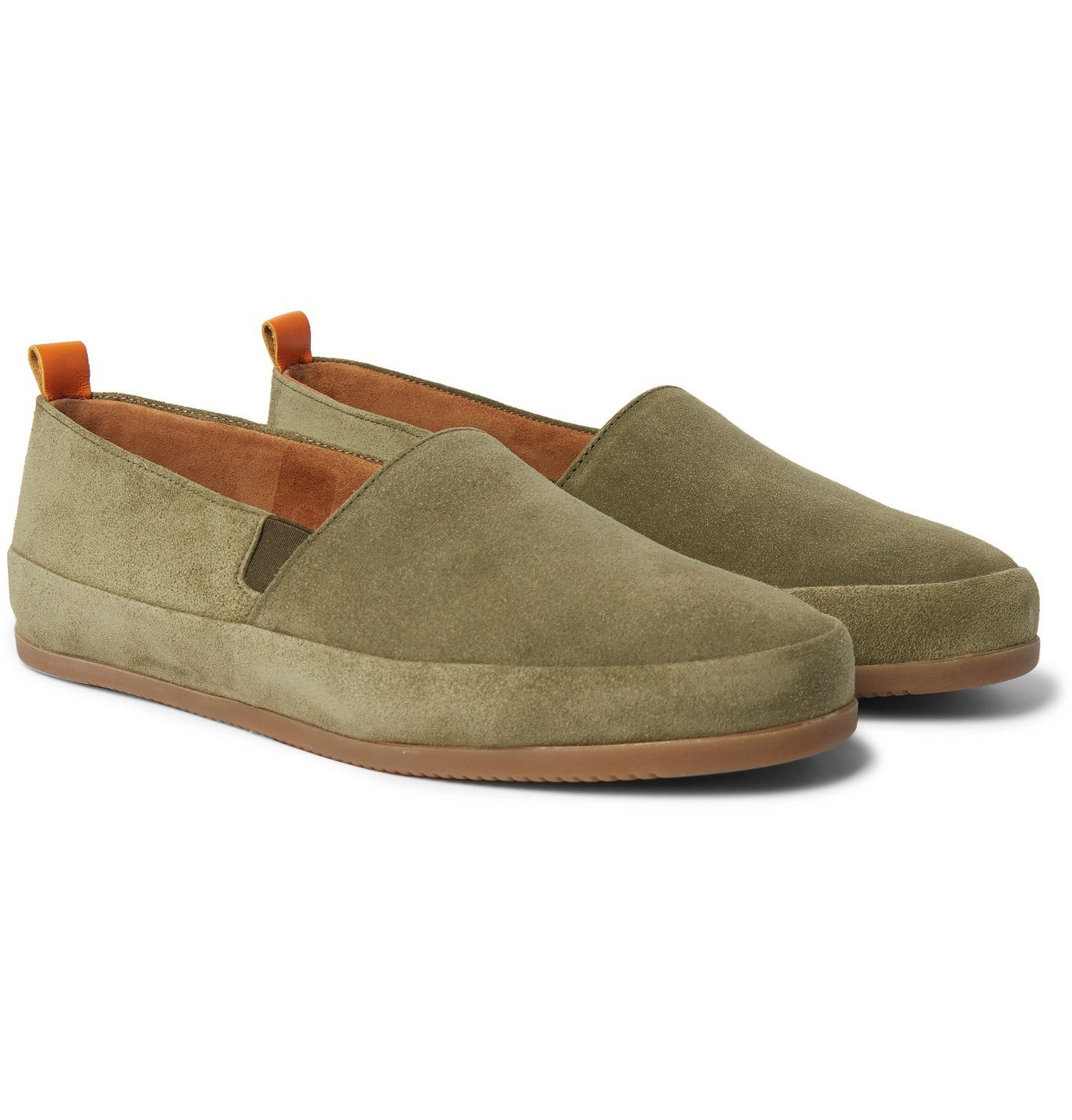 Photo: Mulo - Suede Loafers - Green