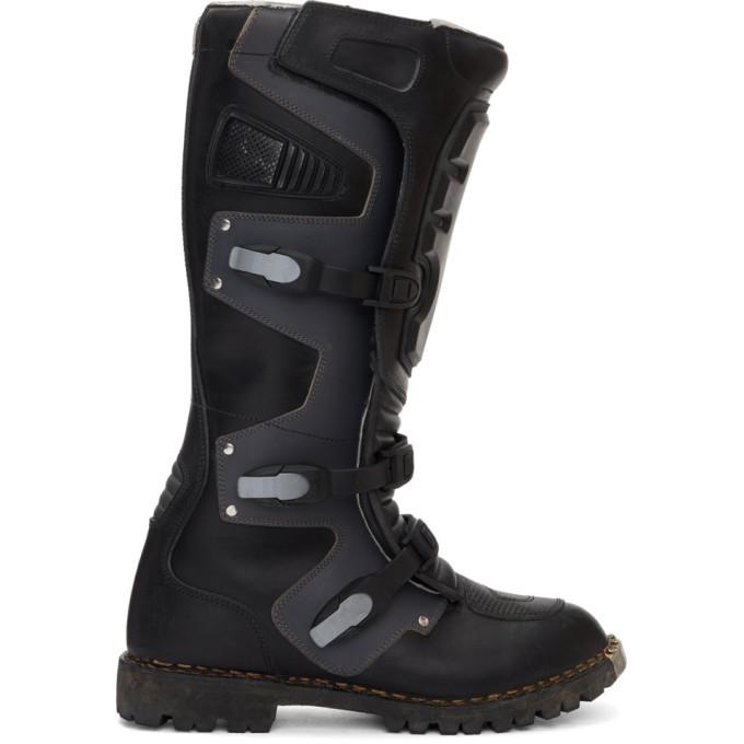 Photo: Balenciaga Black High Moto Boots
