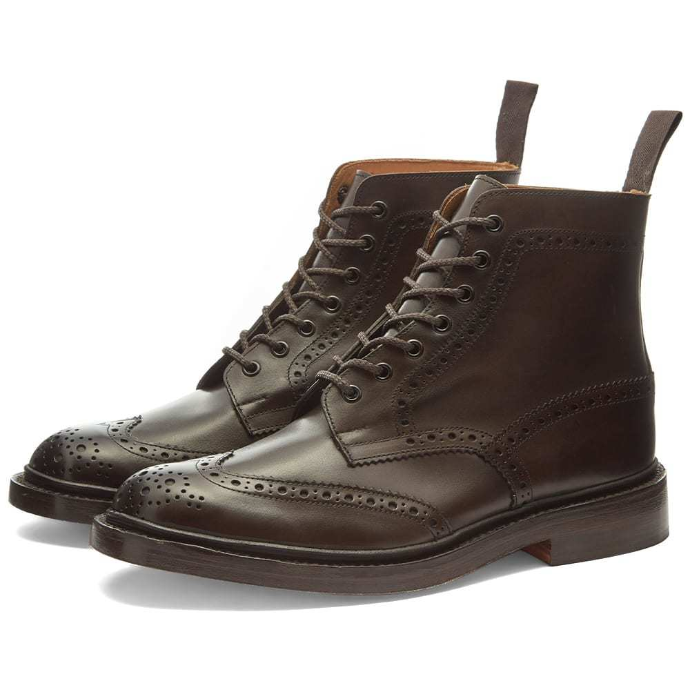 Photo: Trickers Stow Brogue Boot