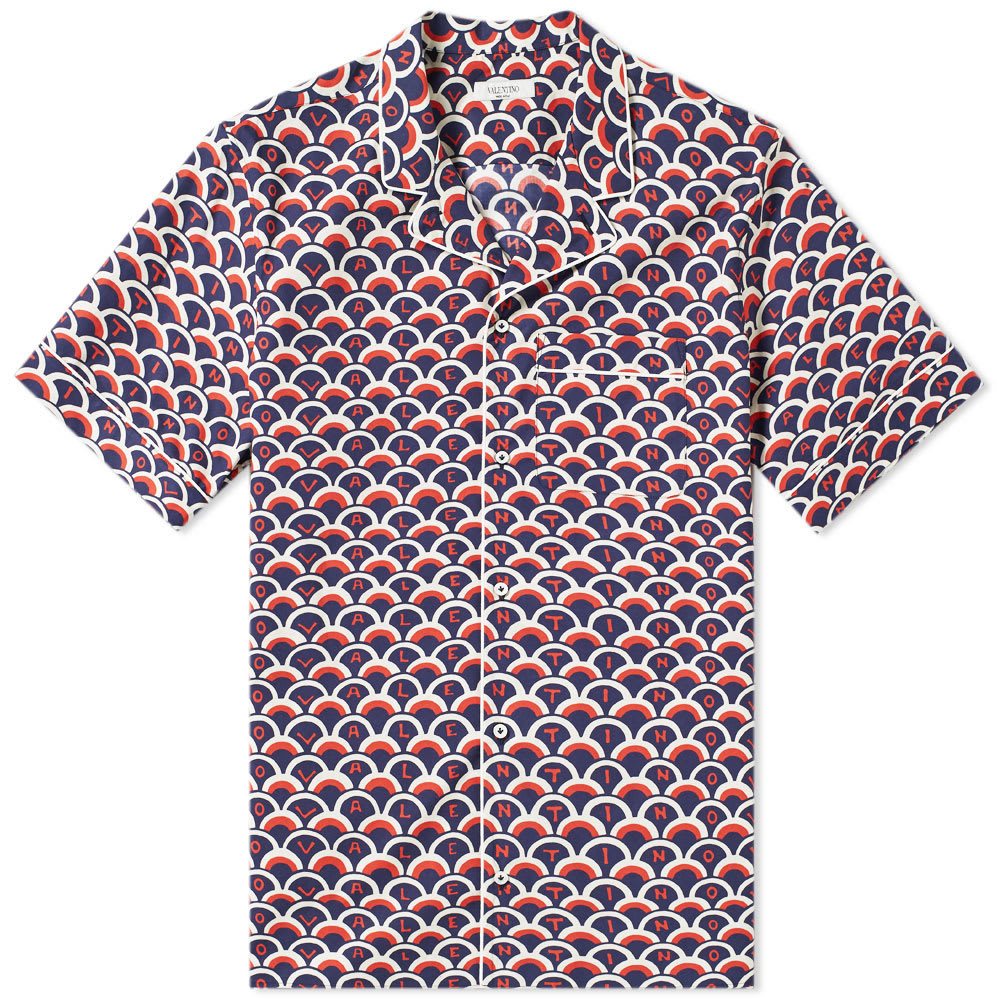 Photo: Valentino Scale Logo Vacation Shirt