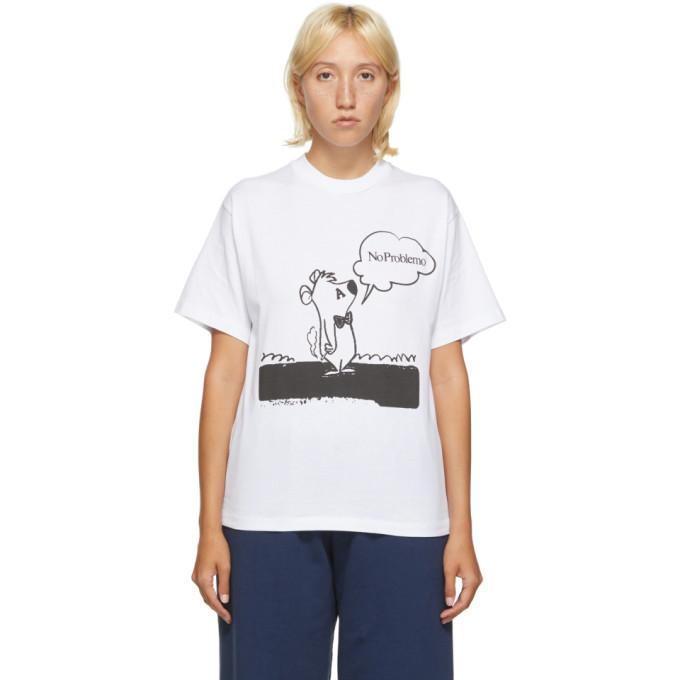 Photo: Aries White Stoner Bear T-Shirt
