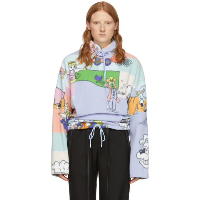 Photo: Martine Rose Multicolor Fleece Bongo Batwing Pullover