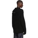 Sacai Black Color Combo Pullover