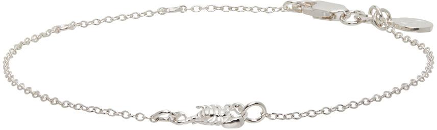 Photo: Stolen Girlfriends Club Silver Micro Scorpion Bracelet