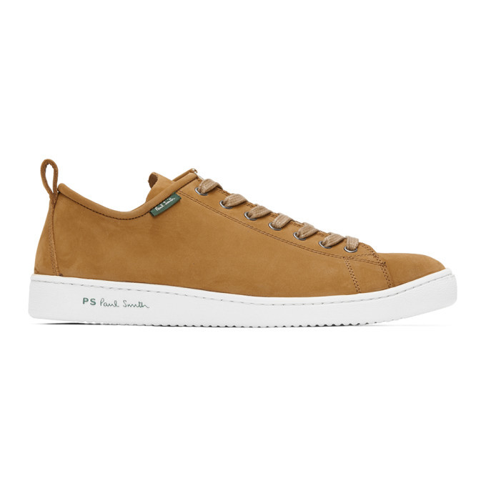 Photo: PS by Paul Smith Tan Suede Miyata Sneakers