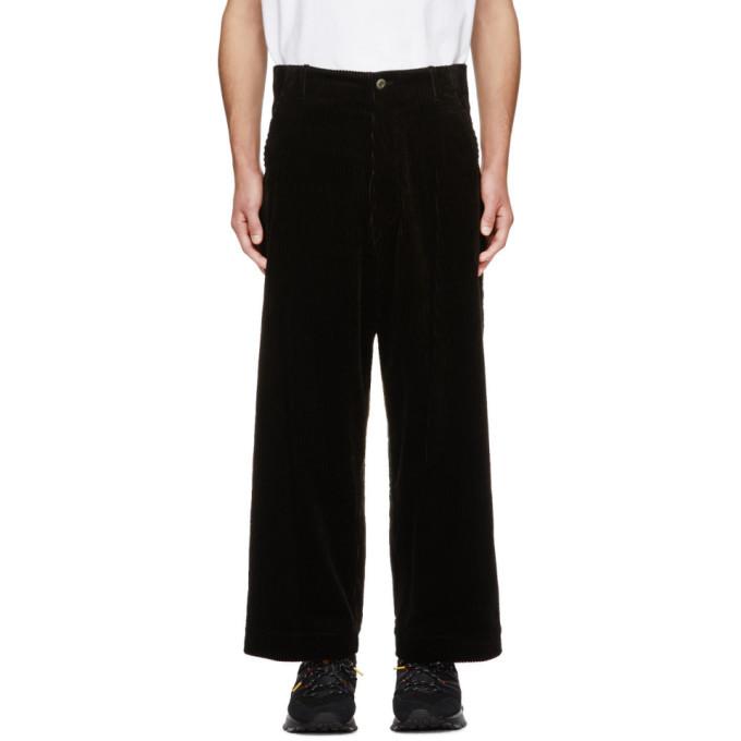 Photo: Kuro Black Corduroy Wide Trousers