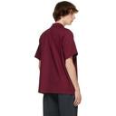EDEN power corp Burgundy Kalkeri Short Sleeve Shirt