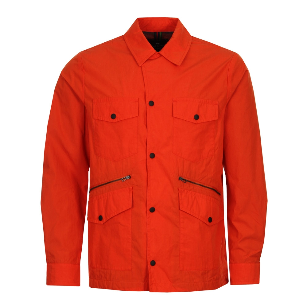 Photo: Work Jacket - Orange