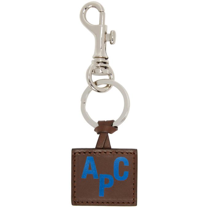 Photo: A.P.C. Brown Jimy Keychain