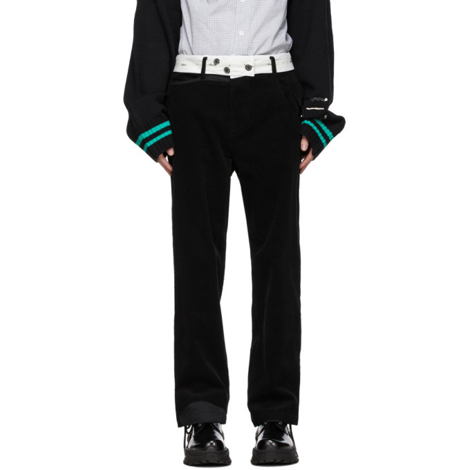 Photo: ADER error Black Baus Trousers