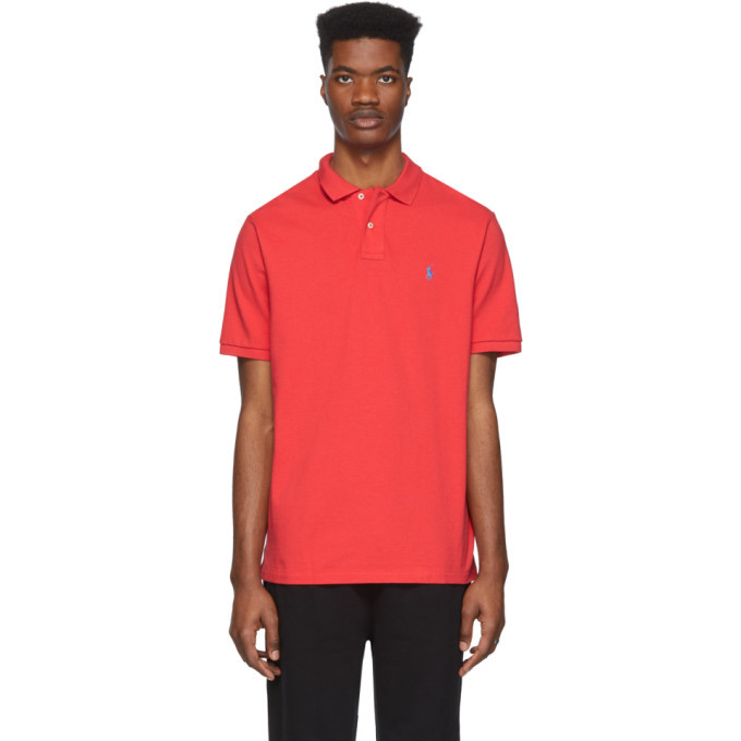 Photo: Polo Ralph Lauren Red Mesh Iconic Polo