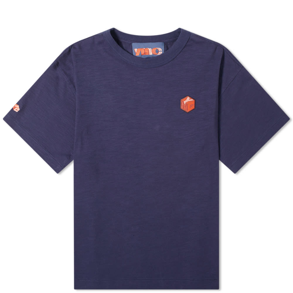 Photo: YMC x Pref Embroidered Logo Tee