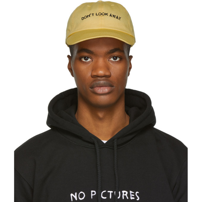 Photo: Nasaseasons SSENSE Exclusive Yellow Dont Look Away Cap