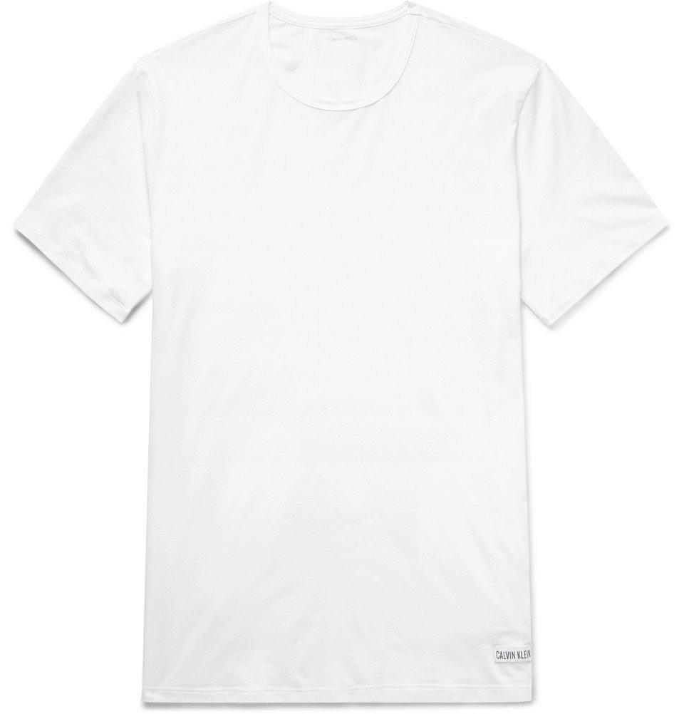 Photo: Calvin Klein Underwear - Stretch-Cotton Jersey T-Shirt - White