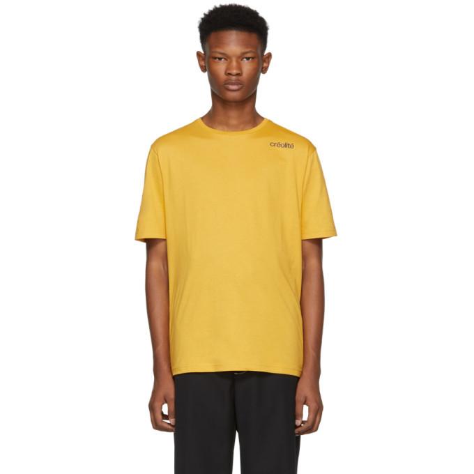 Photo: Wales Bonner Yellow Creolite T-Shirt