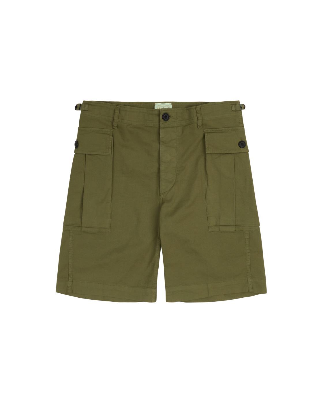 Photo: Aries Cargo Shorts Loden Green