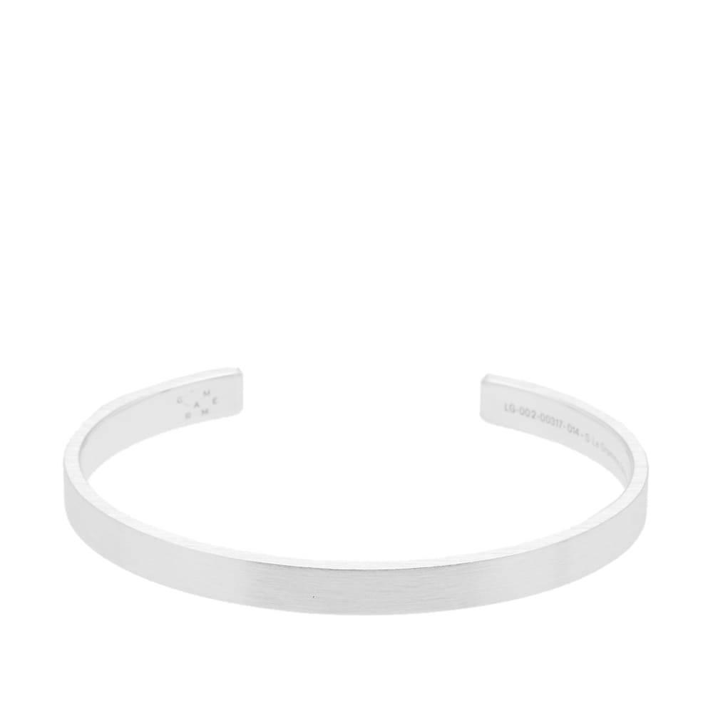 Photo: Le Gramme Brushed Ribbon Bracelet