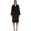 Max Mara Black Manuel Coat