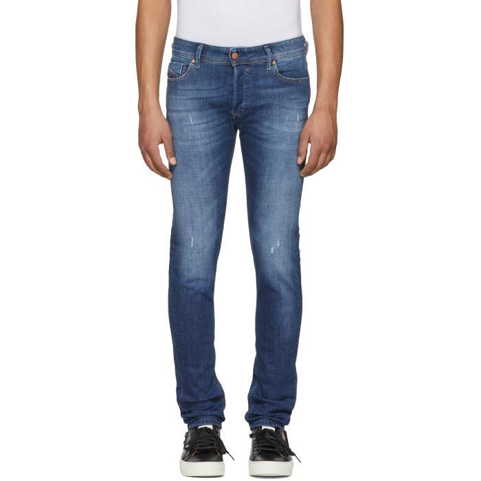 Photo: Diesel Blue Sleenker Jeans