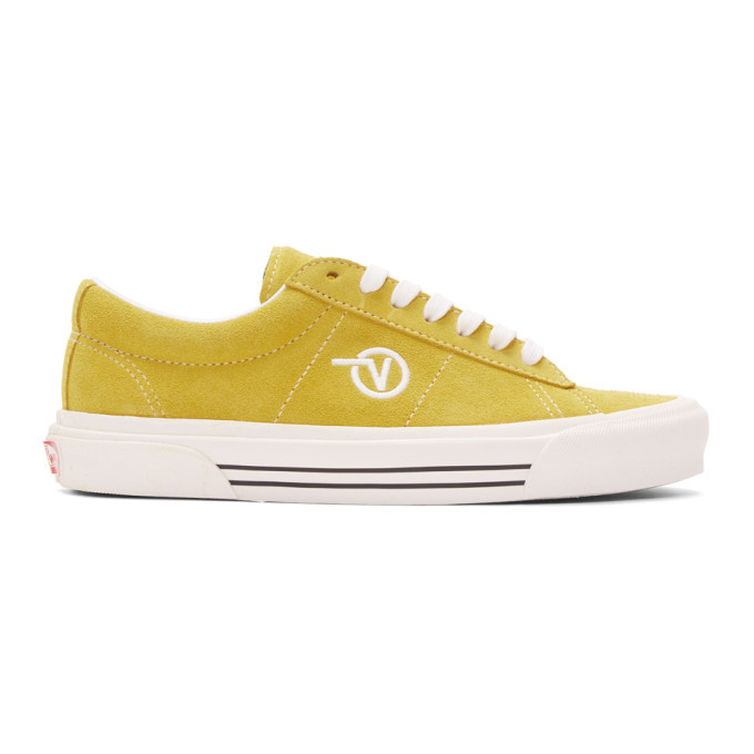 Photo: Vans Yellow Anaheim Factory Sid DX Sneakers