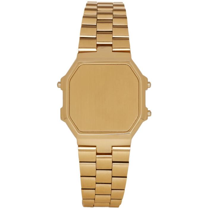 Photo: Ambush Gold Timeless Watch Bracelet