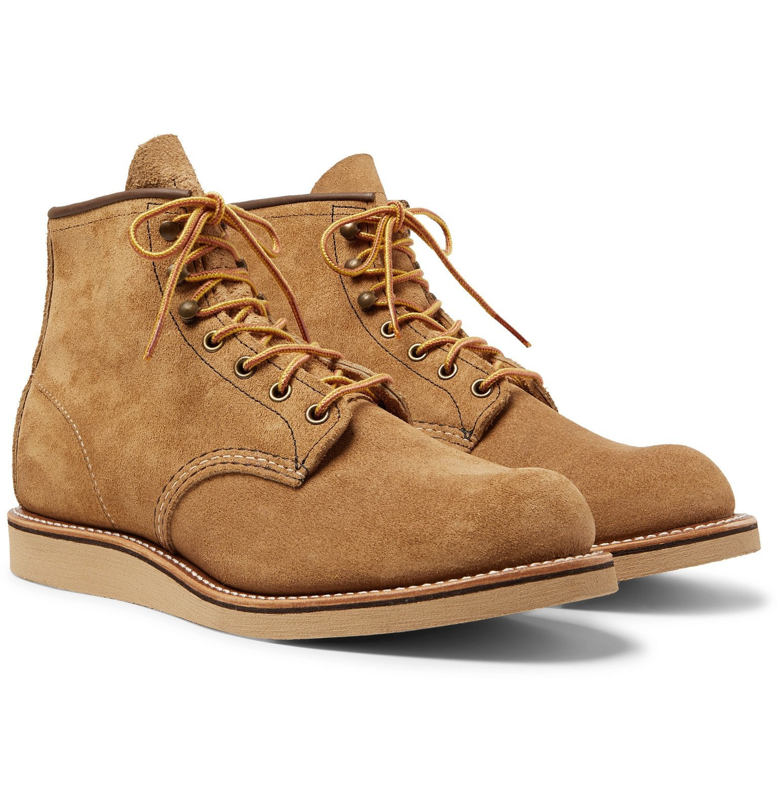 Photo: Red Wing Shoes - 2953 Rover Roughout Leather Boots - Brown
