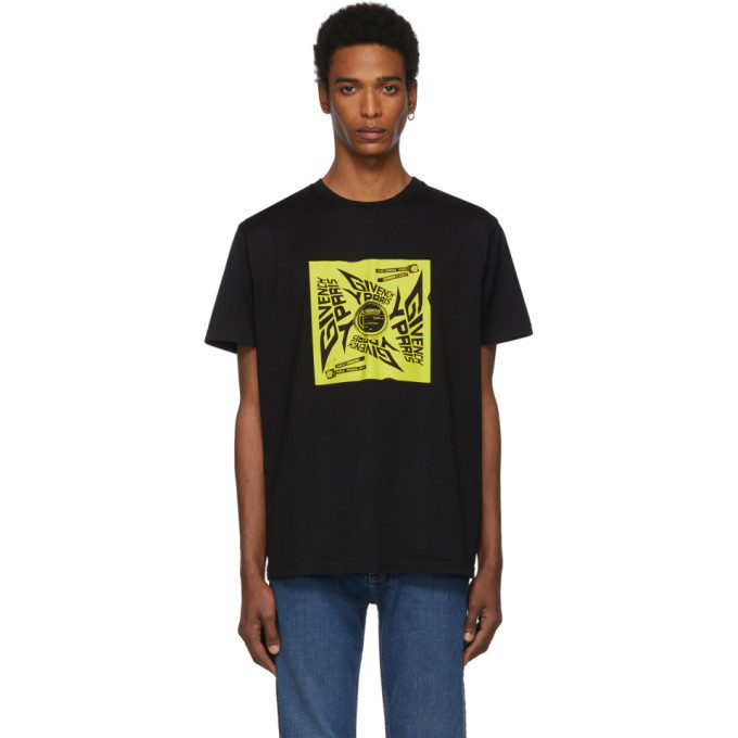 Photo: Givenchy Black Square Sun T-Shirt