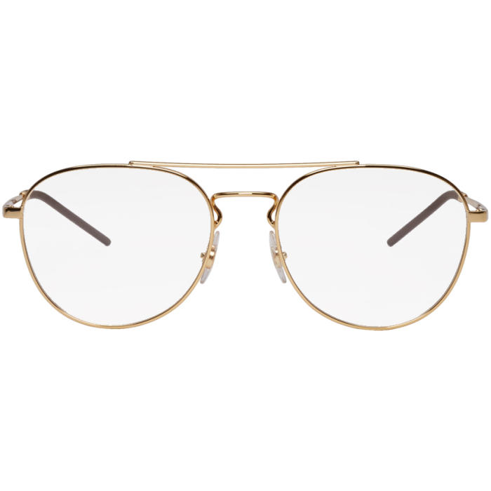 Photo: Ray-Ban Gold Youngster Glasses