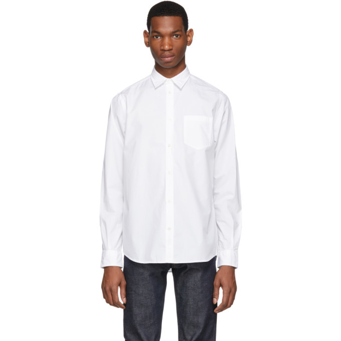 Photo: Norse Projects White Anton Classic Shirt