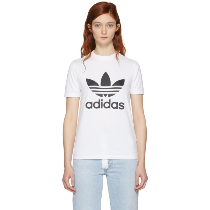 adidas Originals White Trefoil T-Shirt