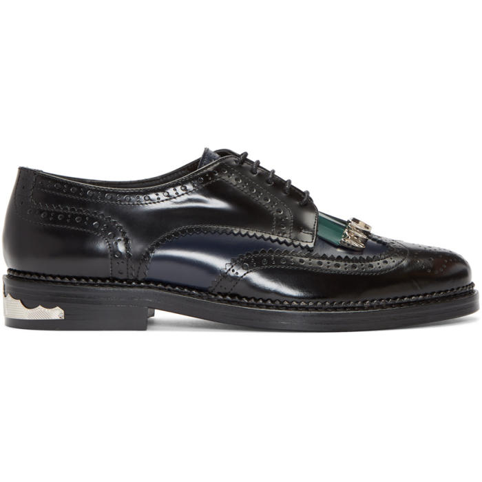 Photo: Toga Virilis Black Tassel Brogues