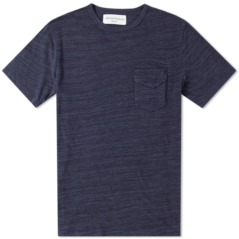 Photo: Officine Generale Japanese Jersey Pocket Tee