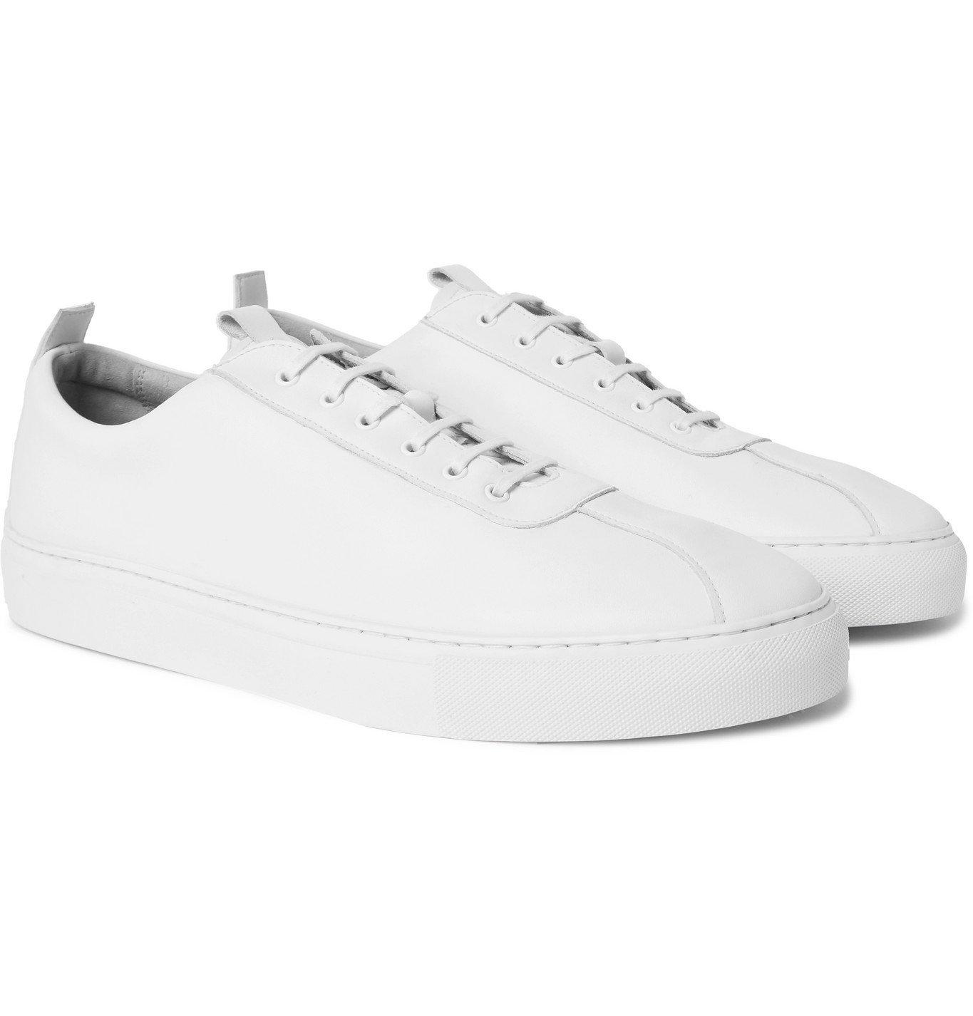 Photo: Grenson - Vegan Leather Sneakers - White