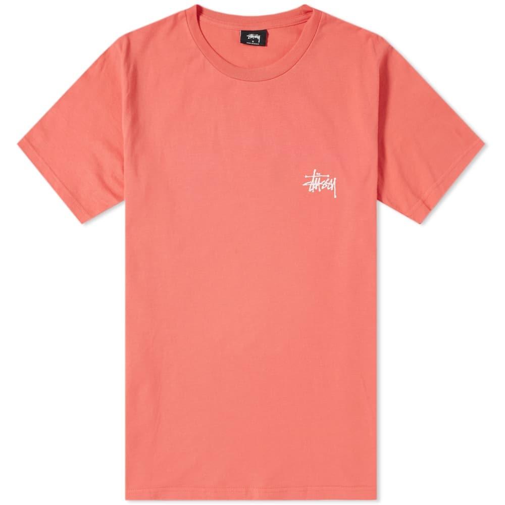Photo: Stussy Basic Tee Pink