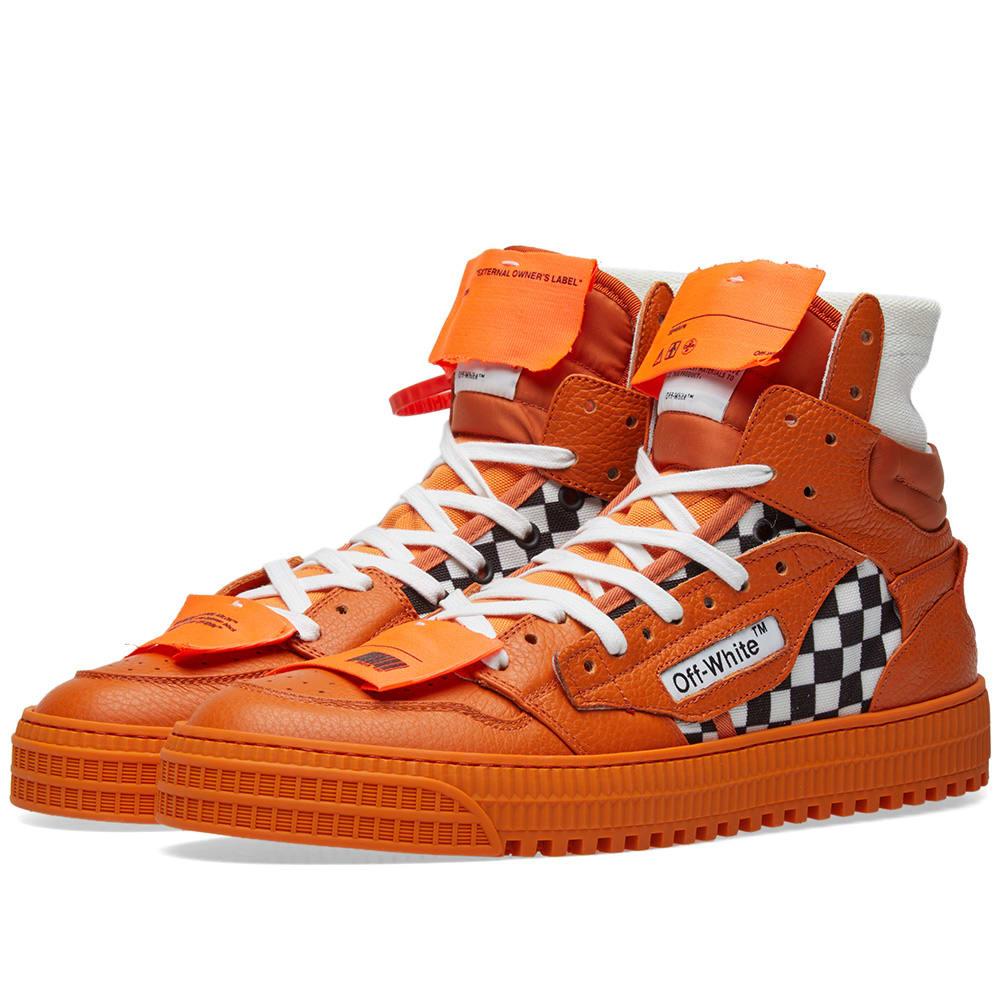 Off-White Low 3.0 Sneaker Orange Off-White
