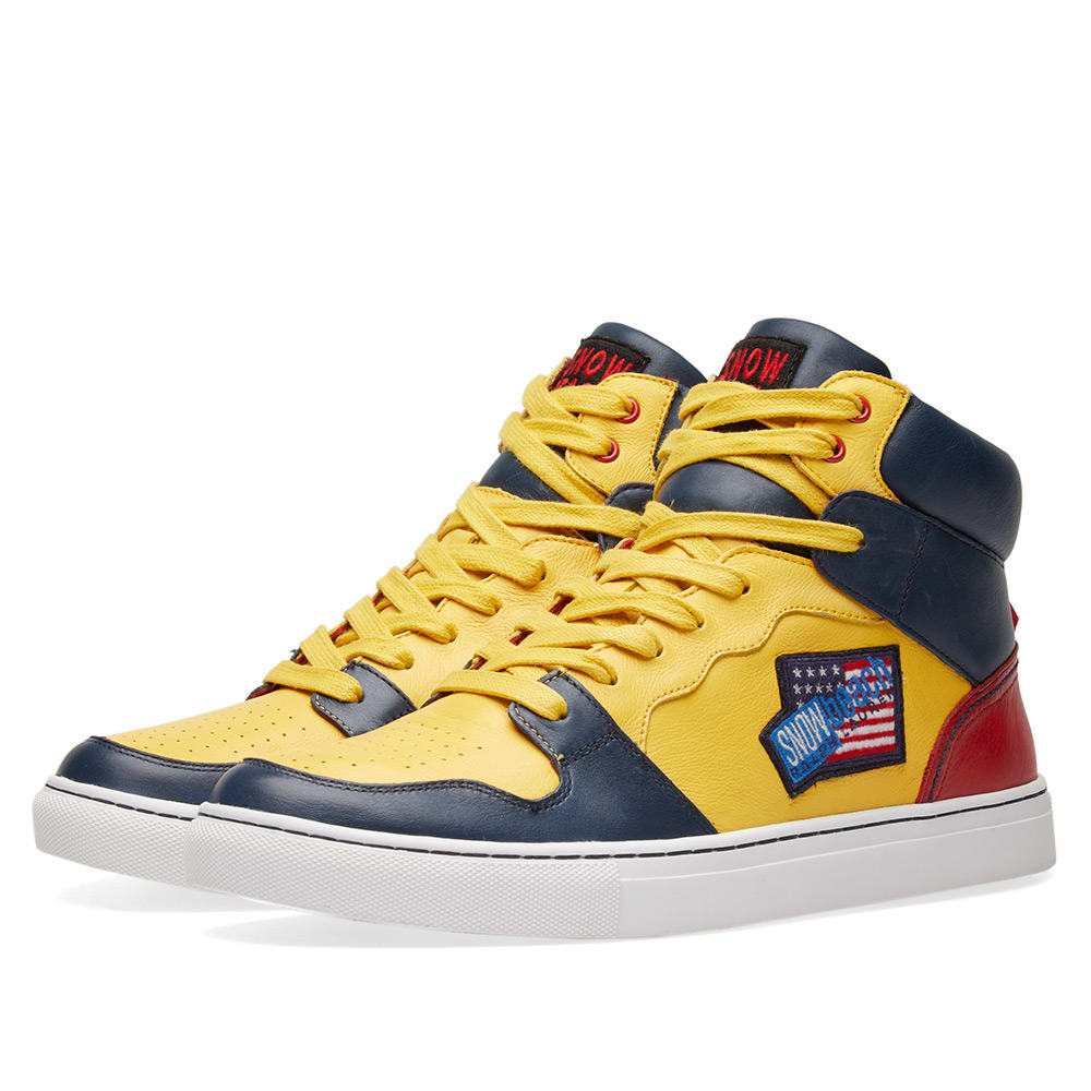 Photo: Polo Ralph Lauren Hi Top Sneaker 'Snow Beach'