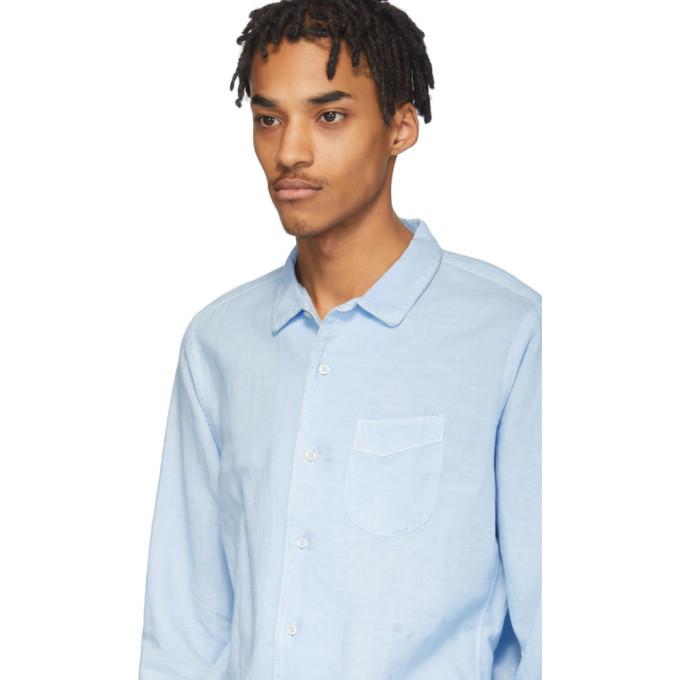 Officine Generale Blue Dyed Shirt