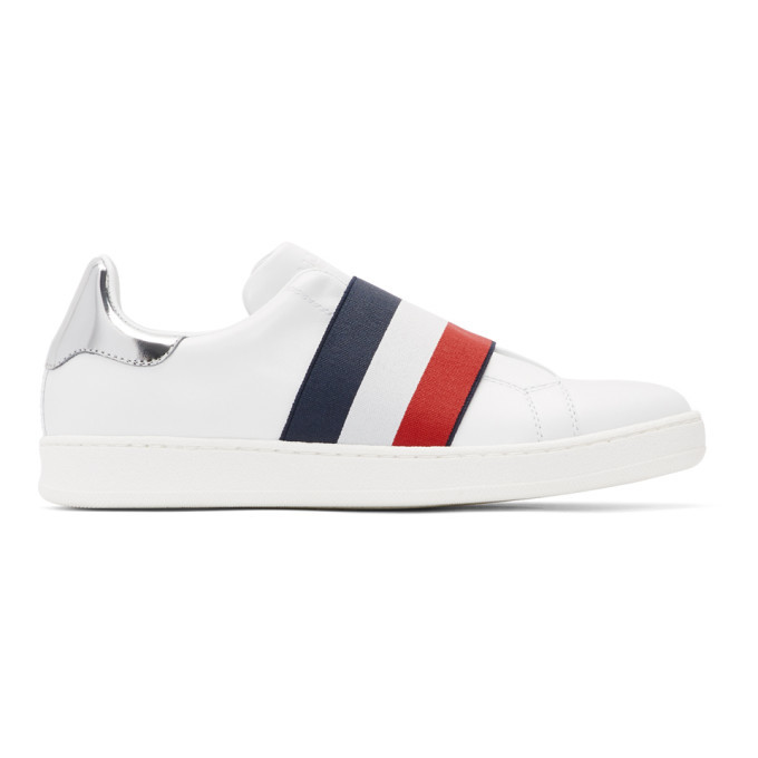 Photo: Moncler White Alizee Sneakers