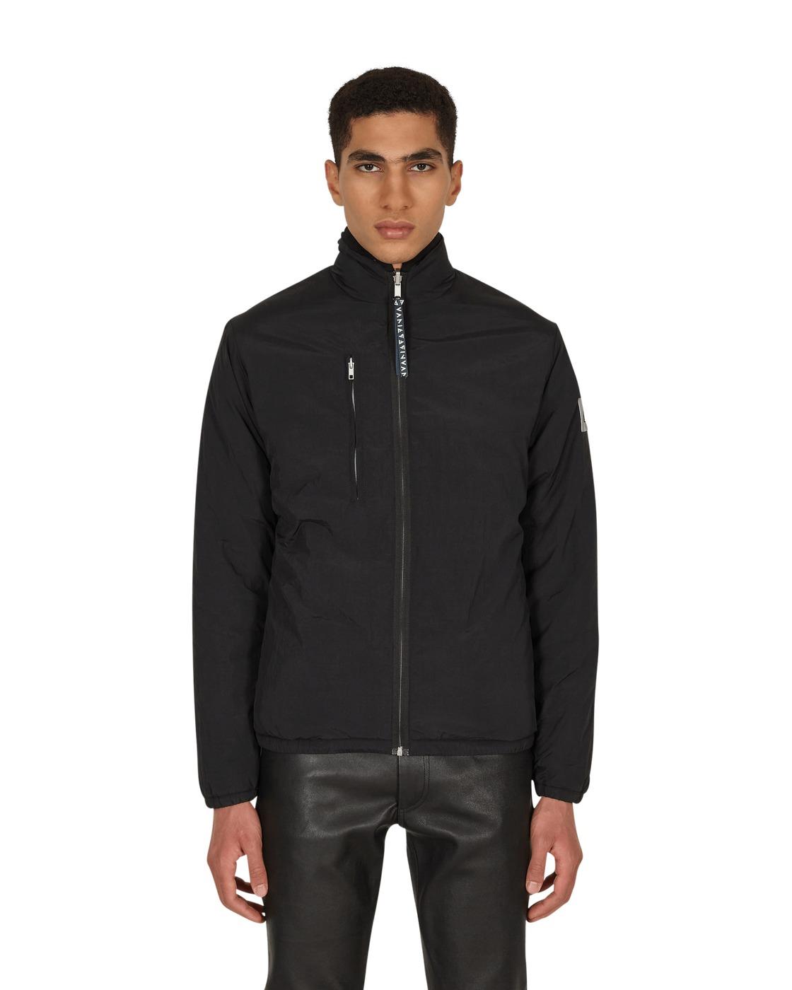 Aries Patchwork Reversible Fleece Jacket Multi
