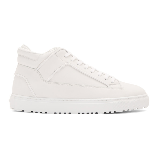 Photo: ETQ Amsterdam White MT 02 High-Top Sneakers