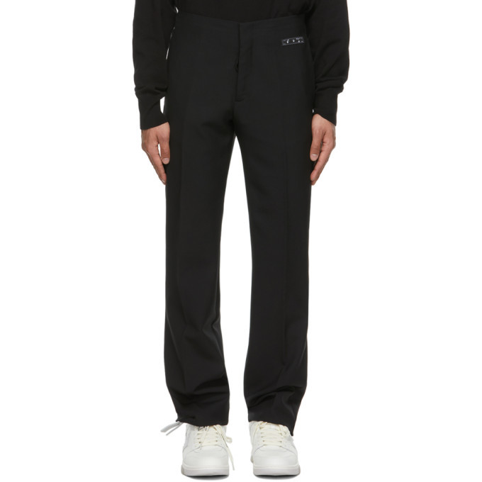 Photo: Off-White Black Clean Trousers
